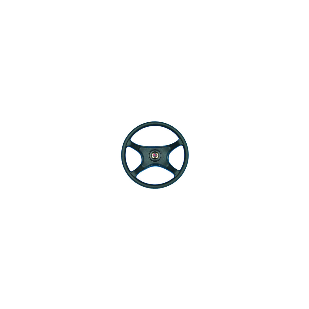 Garda Power Boat Steering Wheel Black
