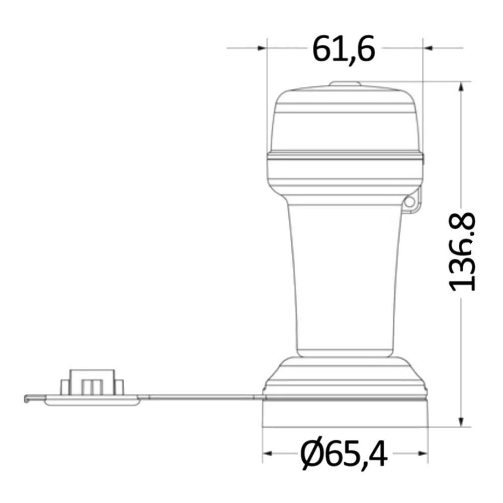 Battery Navigation Light Port Starboard Bi-Colour