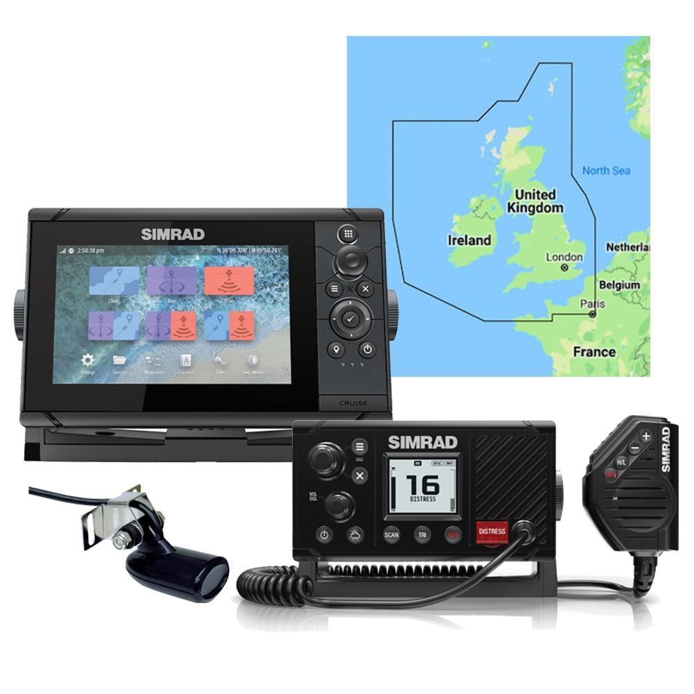 Cruise 7 PLOTTER + RS20S VHF + UK C-MAP CHART
