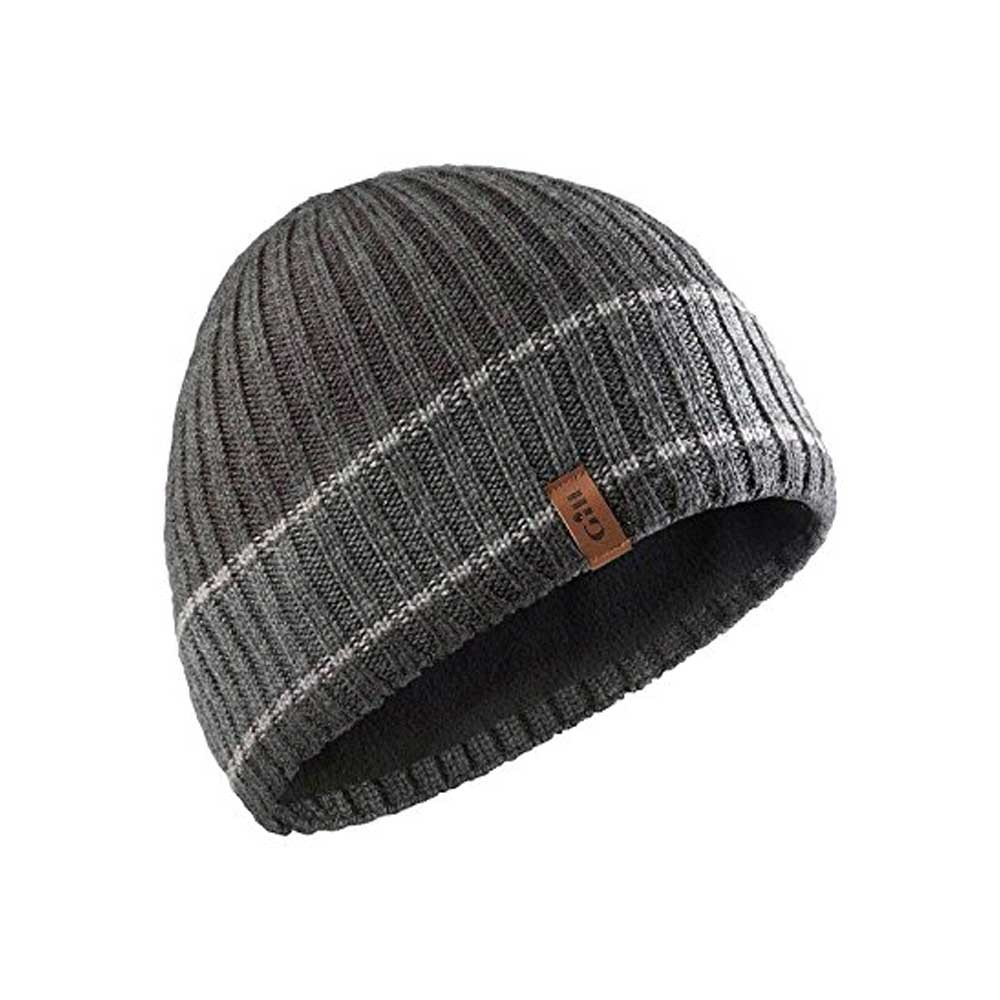 Band Stripe Beanie Graphite/Ash