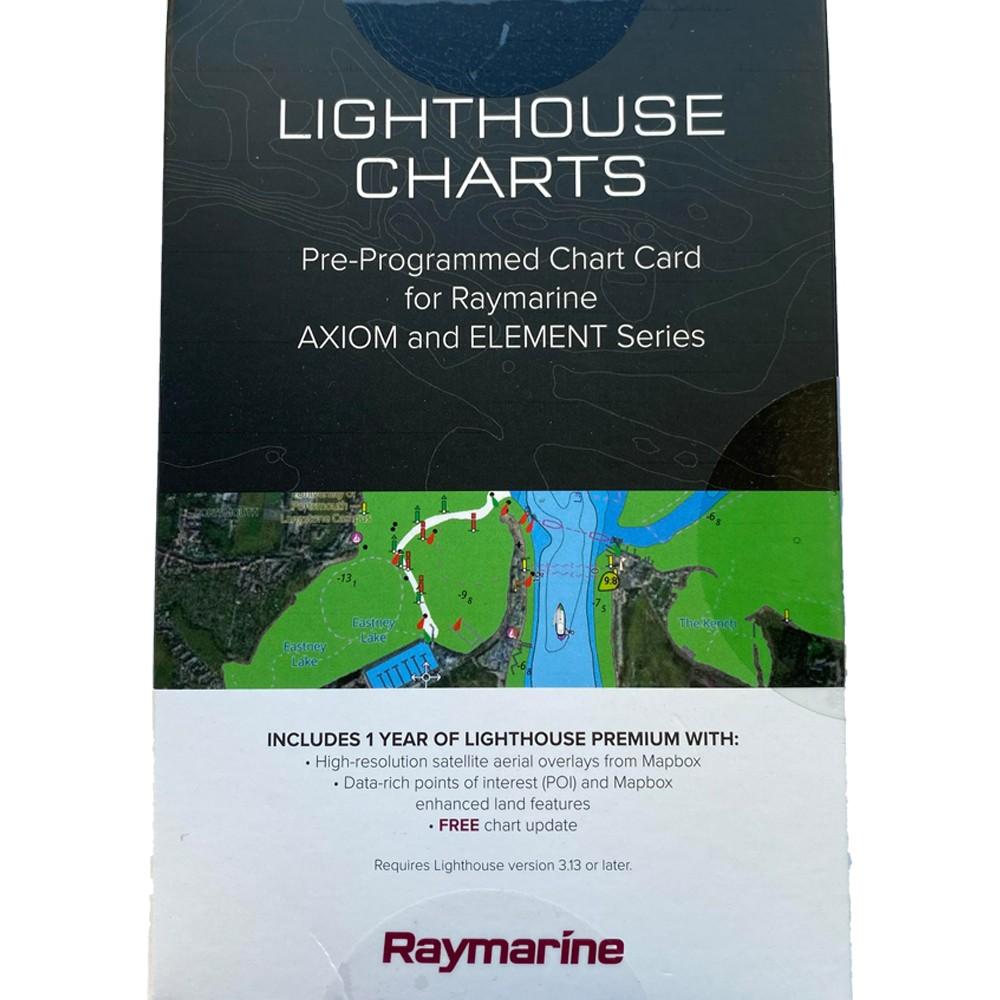 UK & Ireland Lighthouse Chart