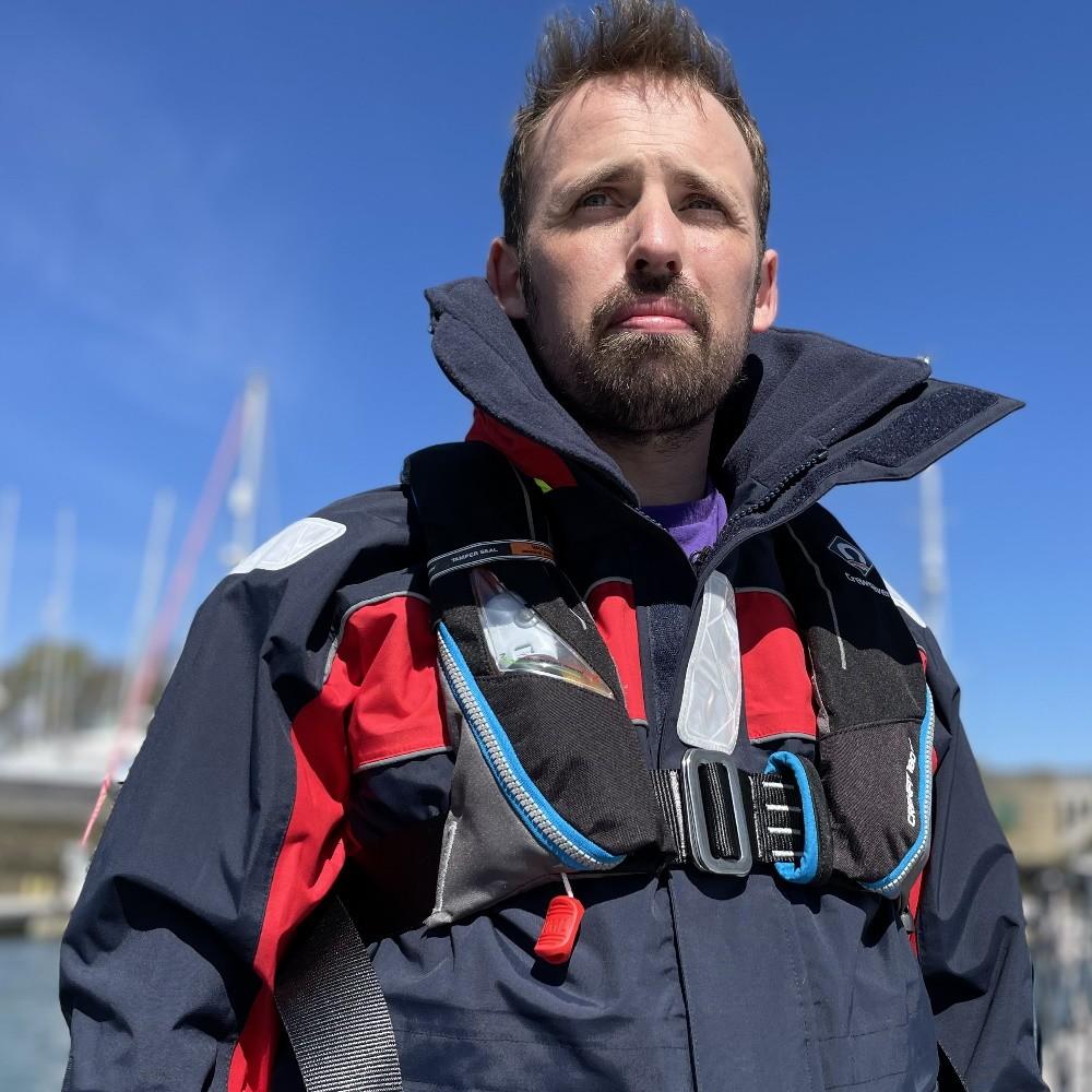 Crewfit 180N Pro HUDLITE Automatic Harness Life Jacket