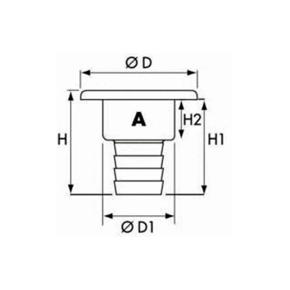 Chrome Deck Filler Fuel