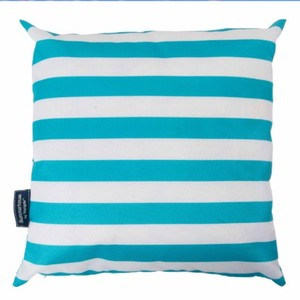Coast Showerproof Cushion Aqua/White