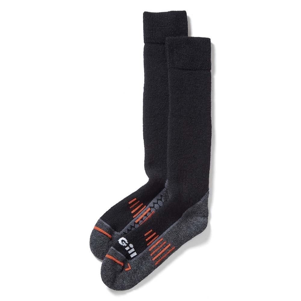 Merino Wool Boot Socks - Black