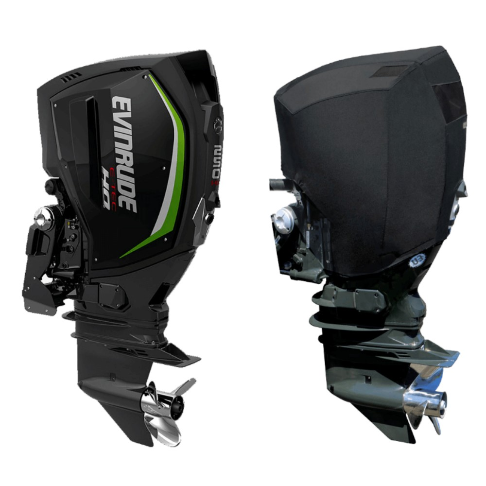 Fitted Outboard Motor Cover - Evinrude 225-300hp E-TEC-G2 2014 on