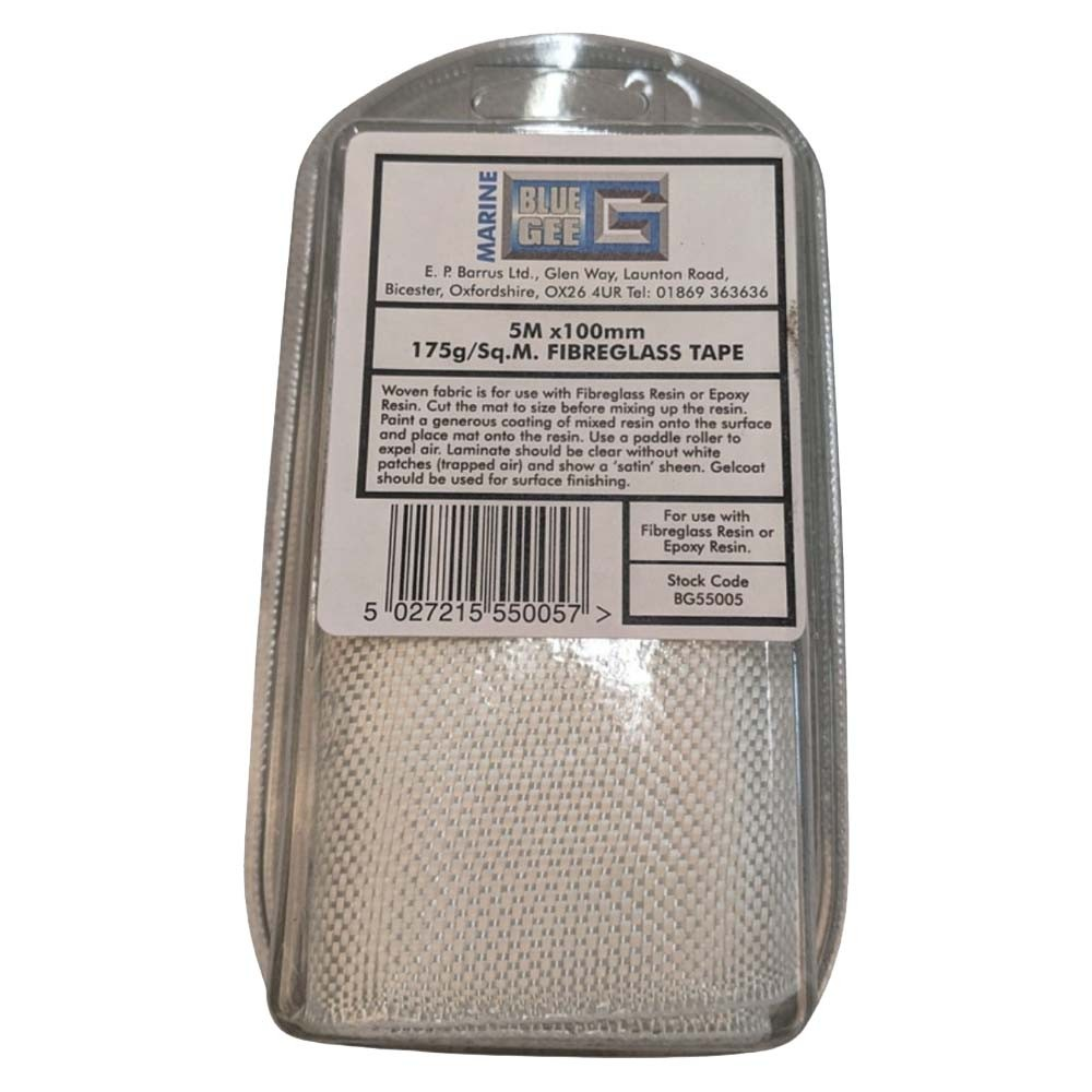 Glass Tape 100mm x 5 Metres