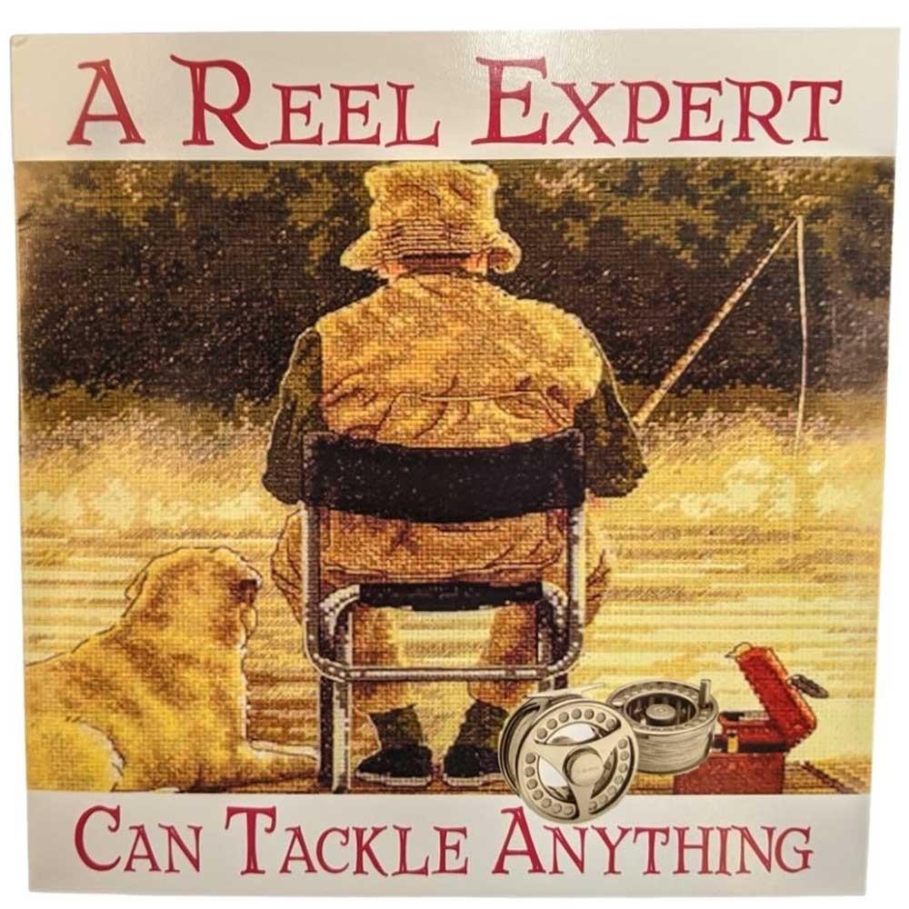 Fishy Tales Card - A Reel Expert