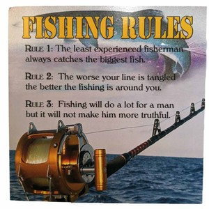 Fishy Tales Card - Fishing Rules