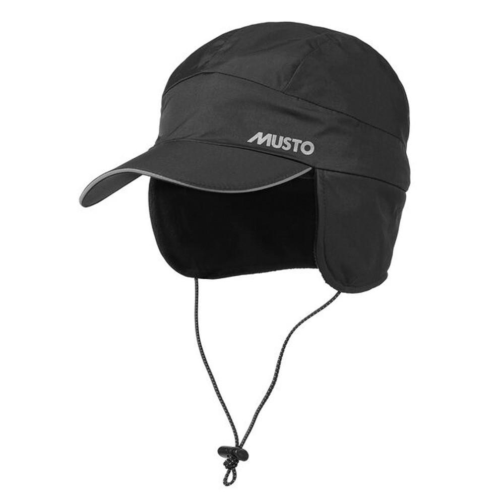 Fleece Lined Waterproof Cap Black