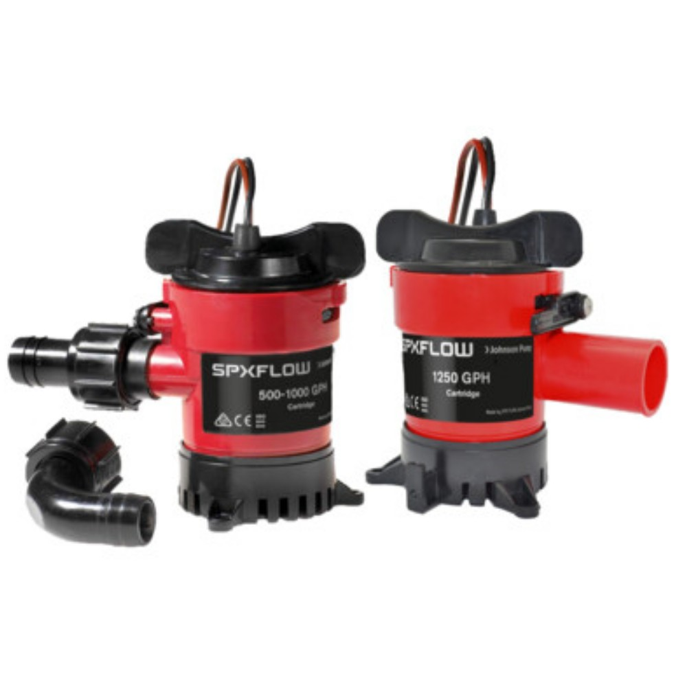 Cartridge Submersible Bilge Pump