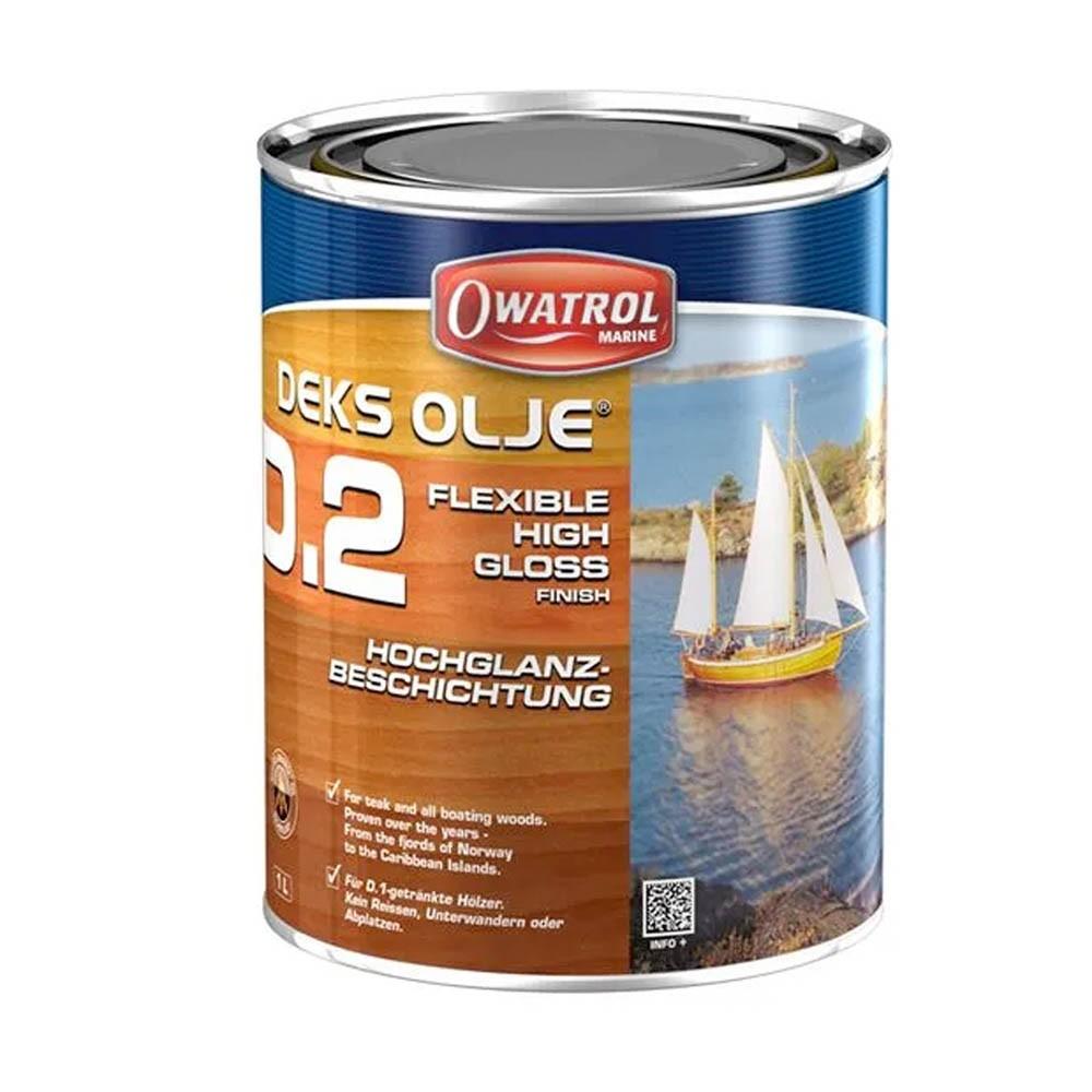 Deks Olje D2 High Gloss Oil Varnish 2.5Ltr