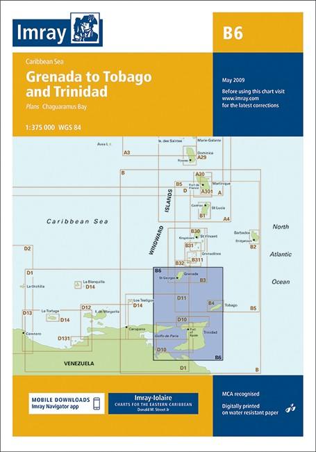 B6 Grenada to Tobago and Trinidad