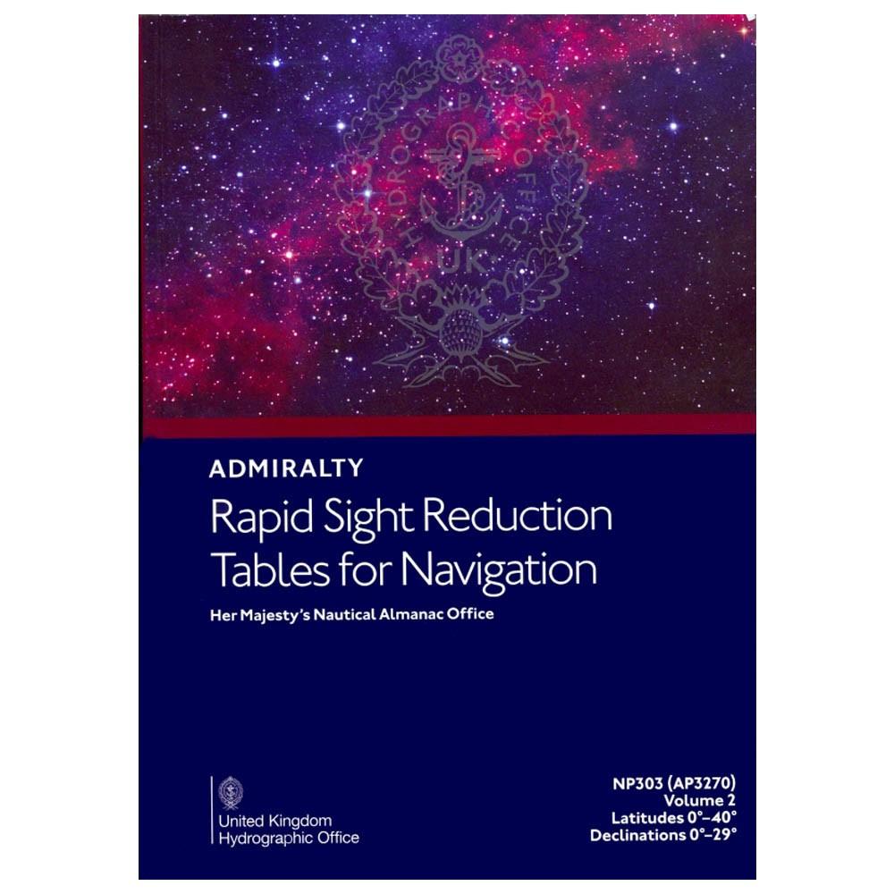 Sight Reduction Tables Vol.2 0-40deg