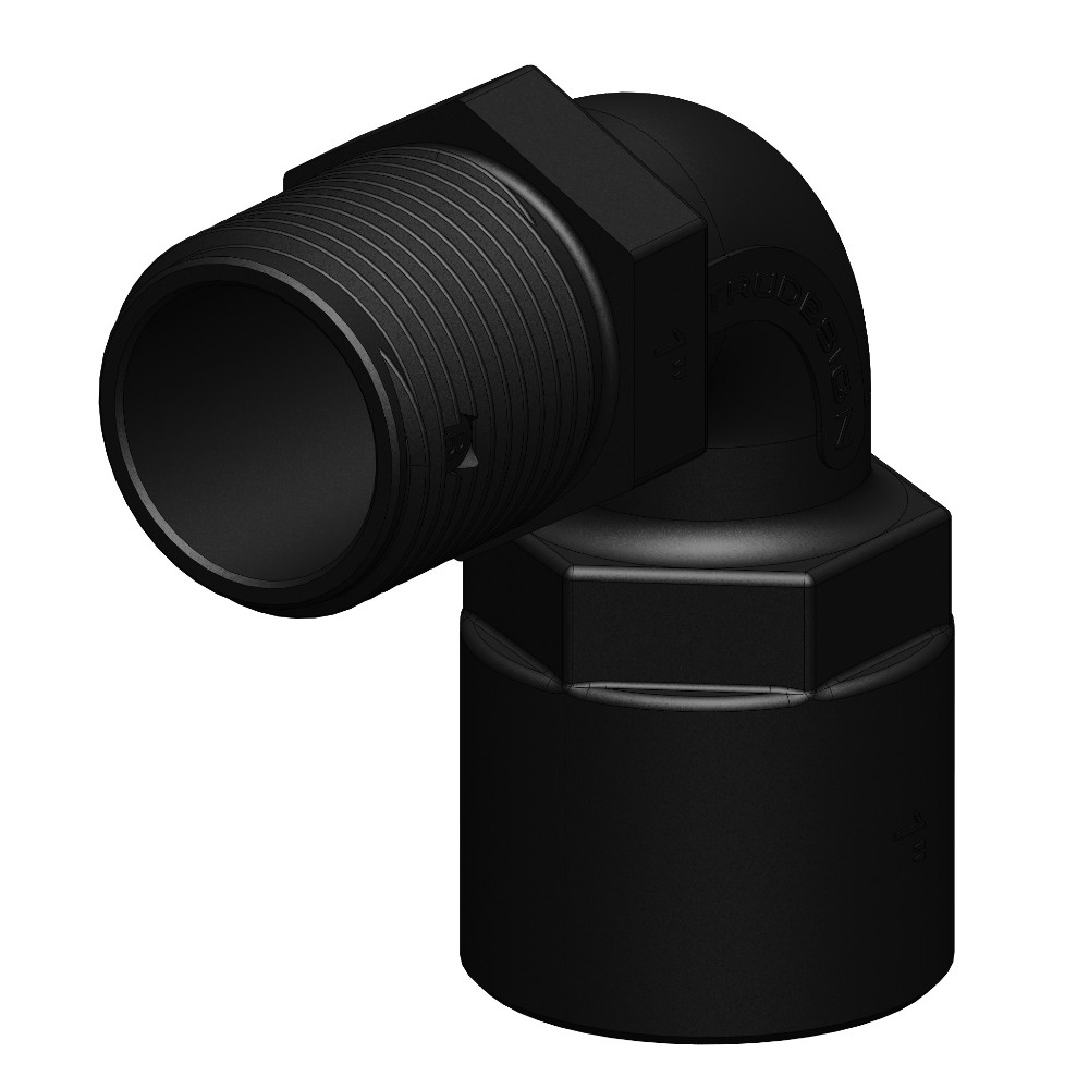 Connector (Adapter) 90°- Female to Male Thread