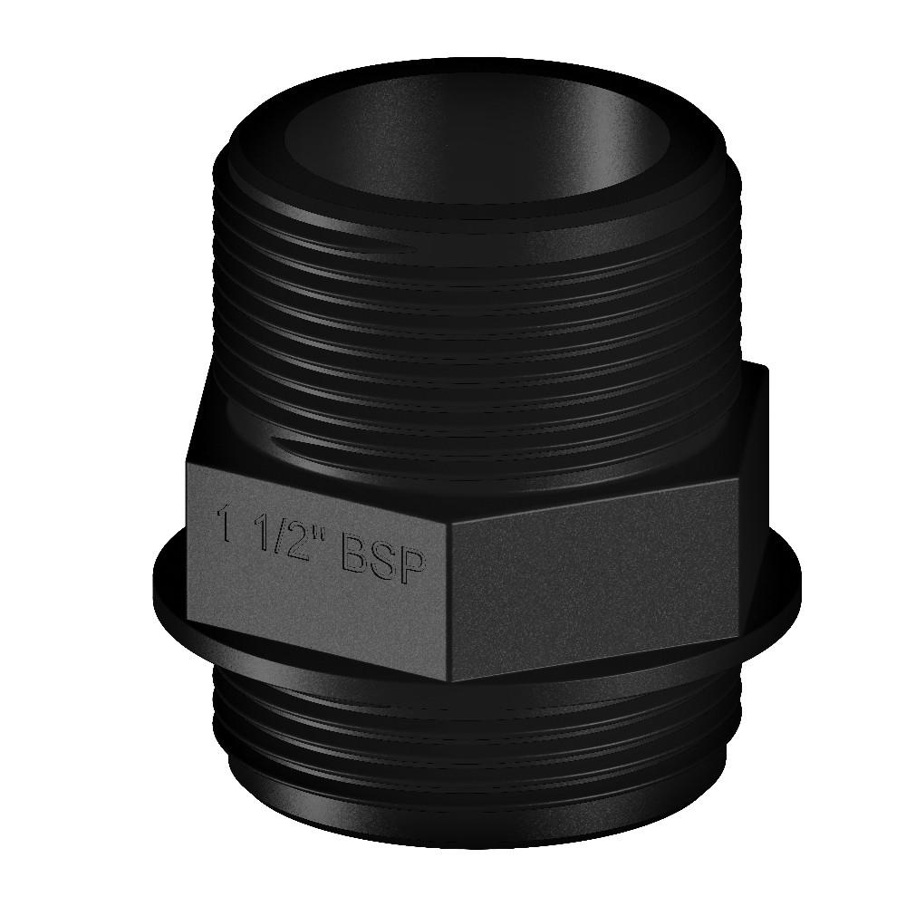 """Nipple Threaded Connector 1 1/2"""""""