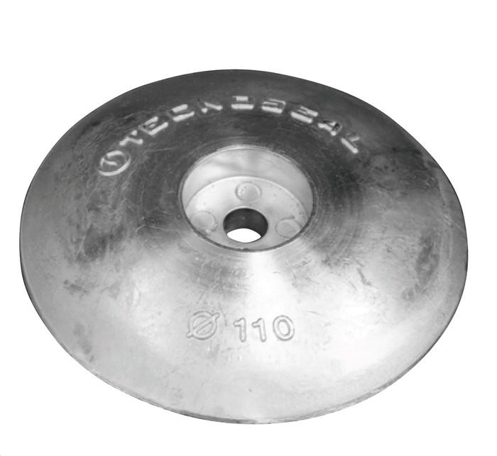 Zinc Disc Anode for Rudder 110mm