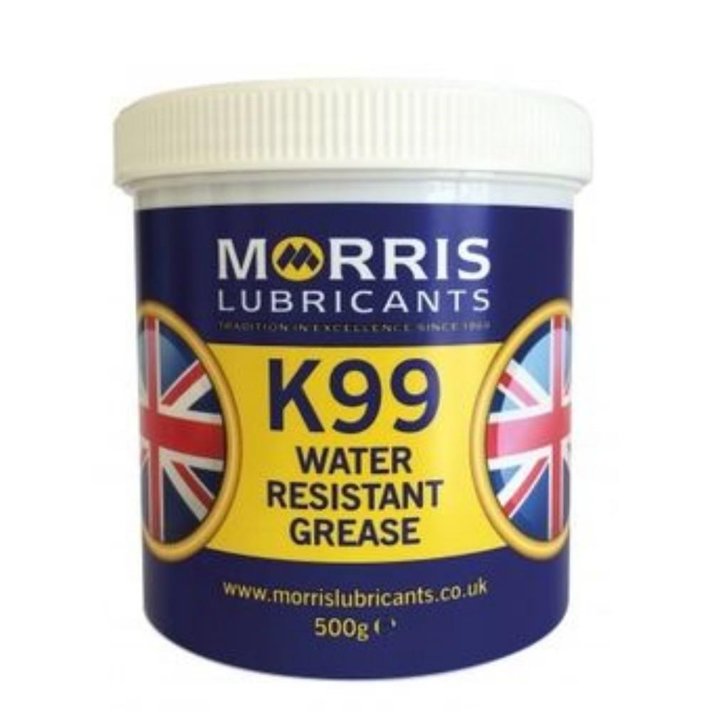 Morris Lubricants K99 Water Resistant Grease 500g