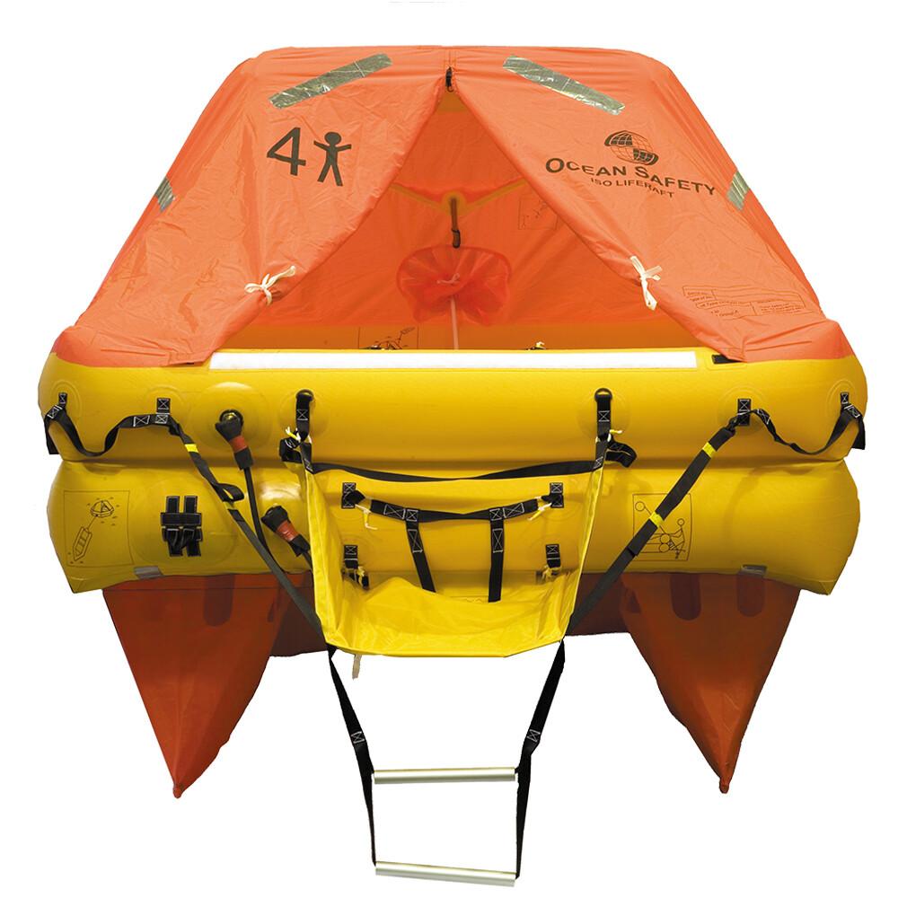 Ocean ISO Liferaft - Cannister 4 Man