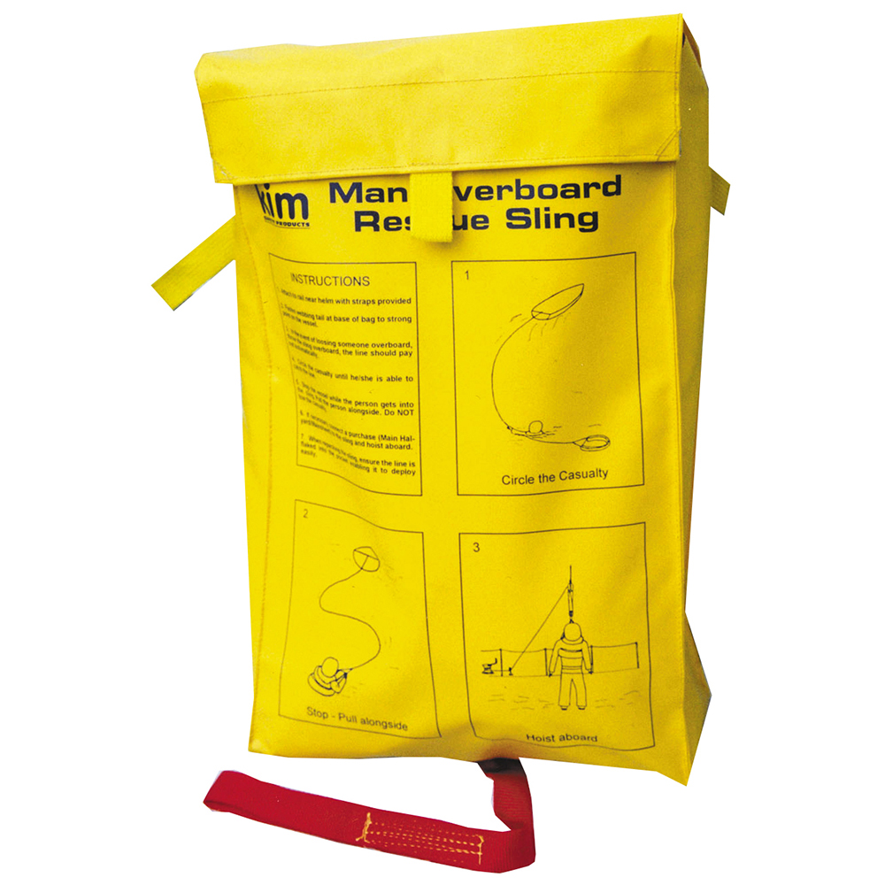 Man Overboard Rescue Sling  - Yellow