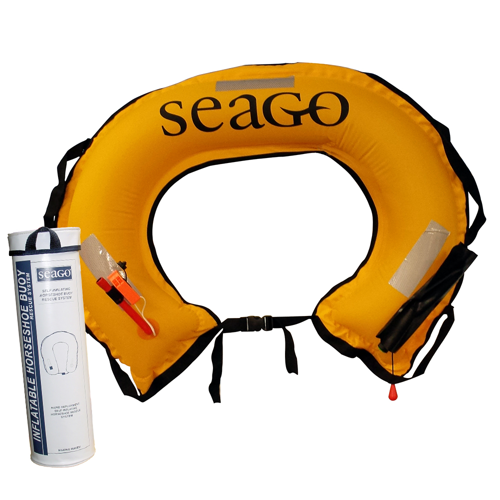 Inflatable Horseshoe Lifebuoy Set