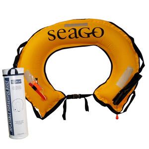 Inflatable Horseshoe Lifebuoy Set