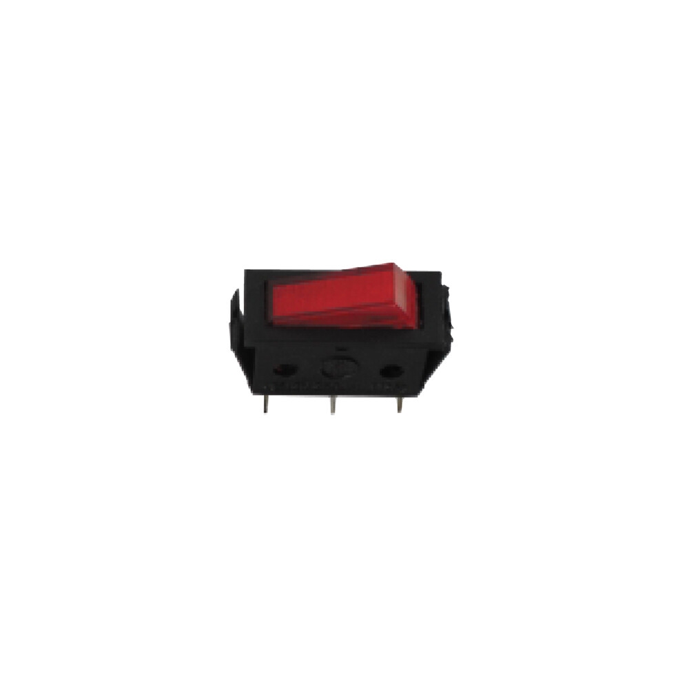 Illuminated Rocker Switch - Red