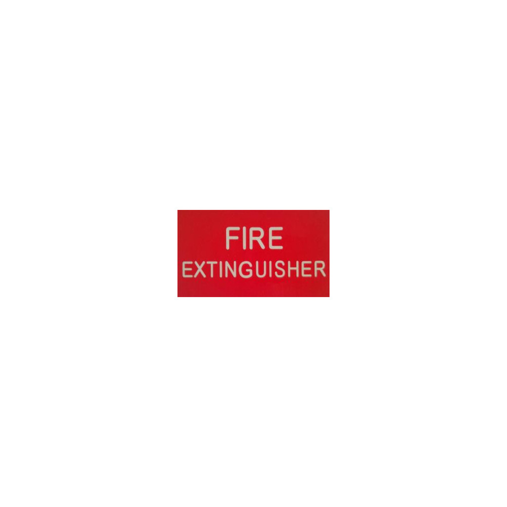 Luminous Fire Extinguisher Sticker