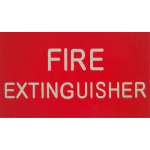 Luminous Fire Extinguisher Sticker