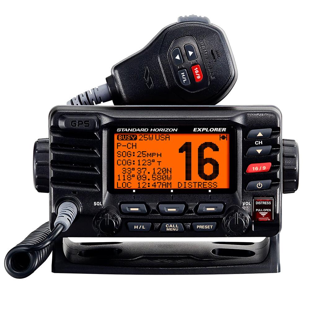 GX1700E Explorer VHF Radio with GPS