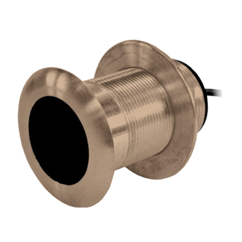 Thru Hull Bronze Transducer 200/50Khz