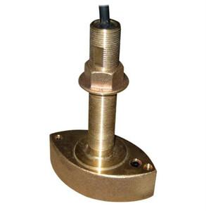 50/200kHz Bronze Thru Hull Transducer