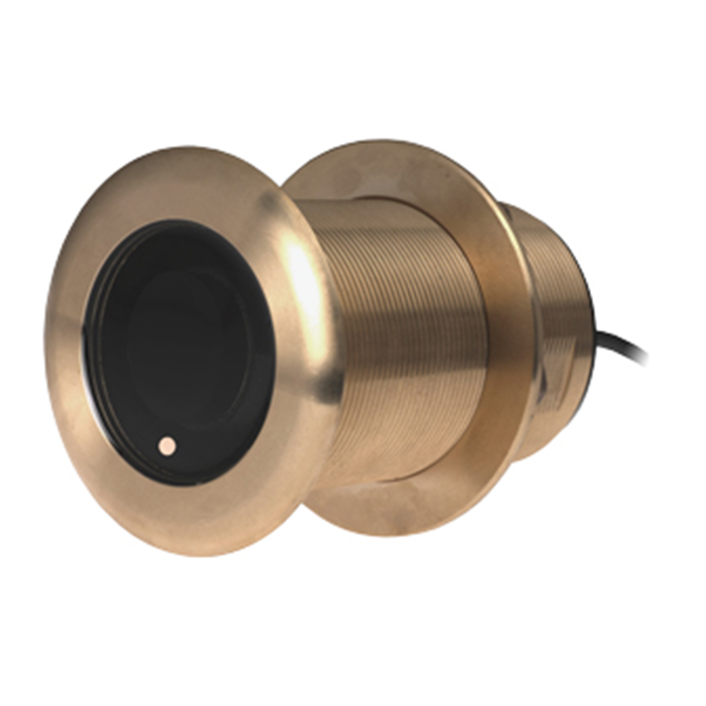 300W Bronze Thru Hull Chirp Transducer